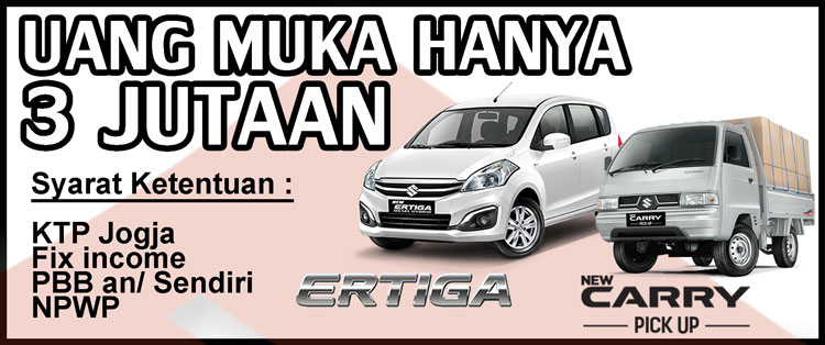 promo ertiga carry futura puck up dp hanya 3 jutaan